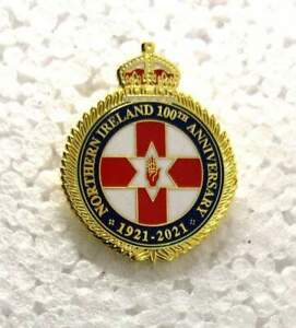 Northern Ireland 100th Anniversary Pin Badge 1921-2021