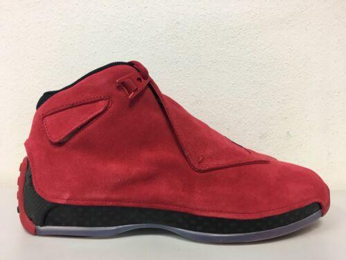 Daim Toro Rouge 18 Vintage Nike Air 601 Gym Xviii Taille 8 Jordan Aa2494 En Noir BwqazaUA