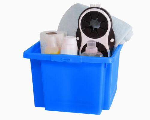 Ondis24 Aufbewahrungsbox Sammelbox Lagerbox Sichtbox Stapelbox H Multibox
