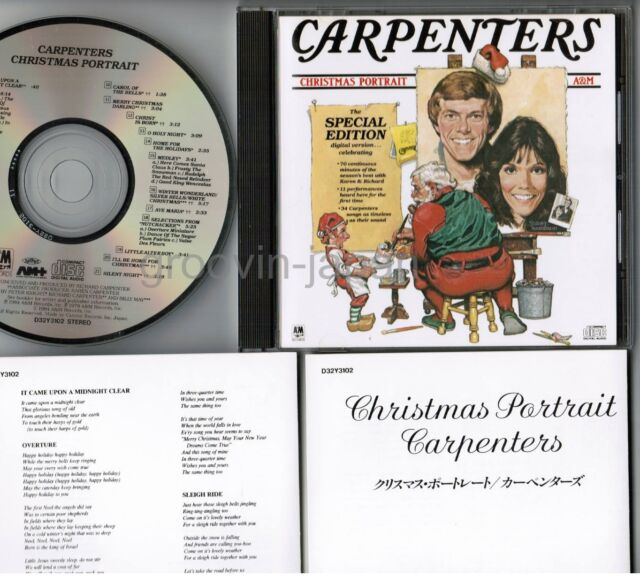 Carpenters Christmas Portrait.Carpenters Christmas Portrait Japan Cd W 2 Inserts D32y3102 1986 Issue 3 200 Jpy