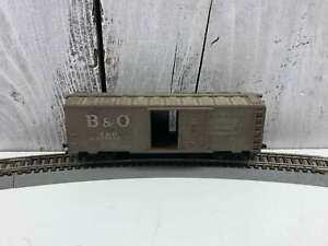 MANTUA-Vintage-HO-SCALE-B-amp-O-SENTINEL-SERVICE-DEPENDABILITY-467025-BOX-CAR
