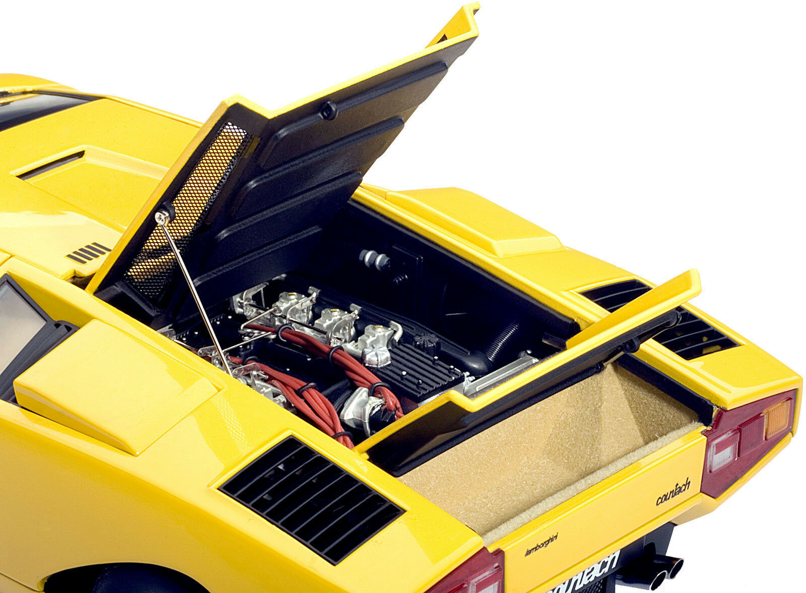 AUTOART 1 18 LAMBORGHINI COUNTACH LP400 1970 jaune 74646