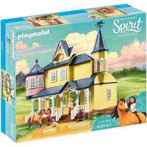 PLAYMOBIL-Lucky-039-s-Happy-Home-Spirit-9475