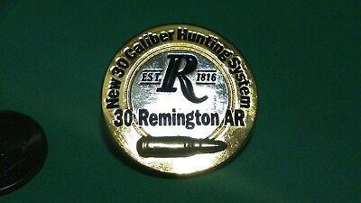 Remington Firearms 30 Caliber AR Hat Lapel Pin