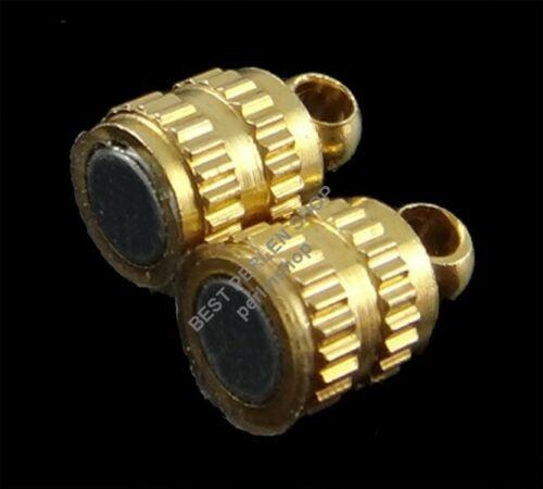 5 cierre magnético 9mm joyas de oro de conector cierres paréntesis mordaza m431
