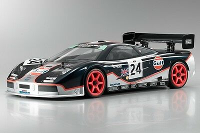 1/10 Le Mans Gulf McLaren F1 GTR  RC car body parts decal for TT01 TT03 Chassis