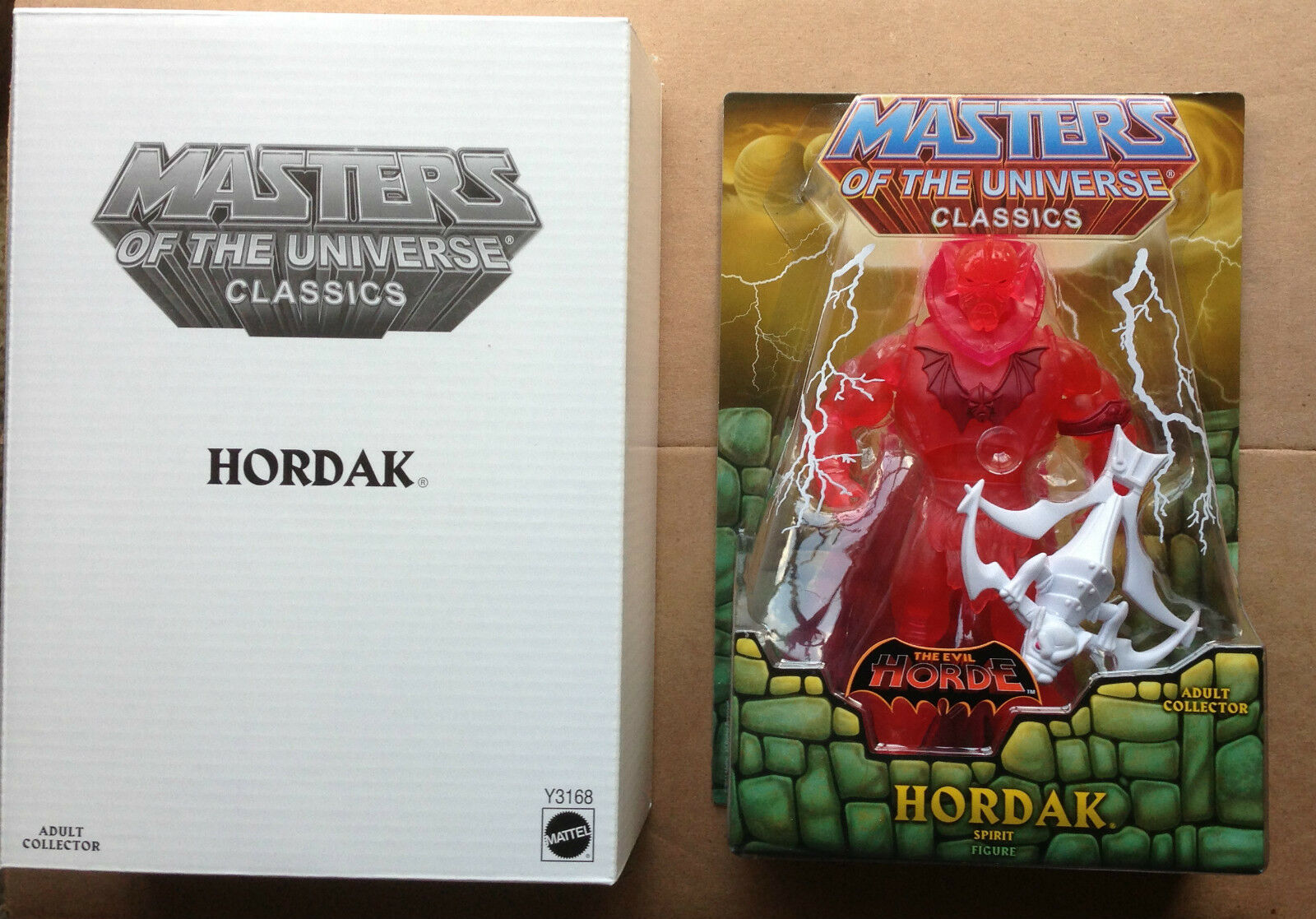 MOTU Classics Masters Of The Universe SPIRIT OF HORDAK Figure MOTUC FIRST CHASE
