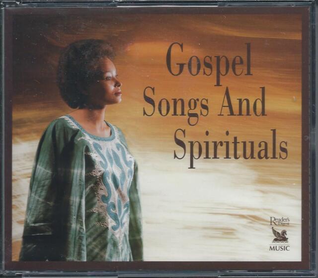 Gospel Songs And Spirituals - 43 Gospel Tracks - Readers Digest 3CD NEW/SEALED