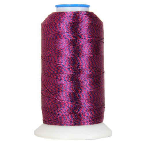 TWIST STYLE POLYESTER EMBROIDERY THREAD 12 COLORS 40WT 1000M SPOOLS THREADART