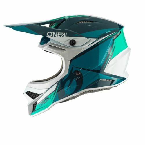 O/'neal 3 Series Stardust Motocross Enduro MTB Helm blau//türkis 2020 Oneal