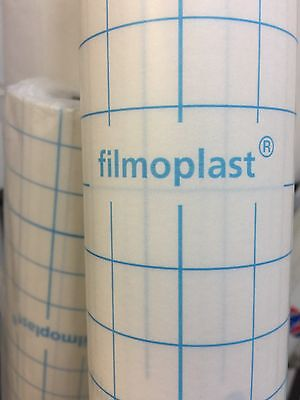 SELF ADHESIVE EMBROIDERY STABILISER 20CM X 5 METRES LONG Filmoplast STICKY