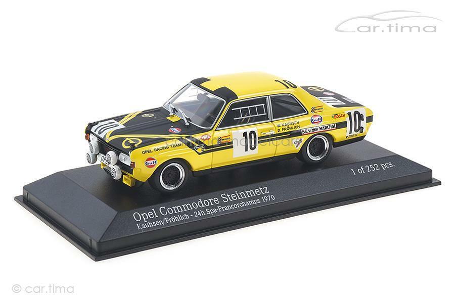 Opel Commodore A Steinmetz - 24h Spa 1970-KAUHSEN Cheerful-Minichamps 1 43