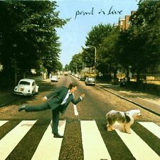 Paul McCartney  - Paul Is Live PARLOPHONE RECORDS CD 1993 (7243 8 27704 2 8)