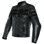 New-Dainese-8-Track-Perforated-Leather-Jacket-Men-039-s-EU-56-Black-153381969156 miniature 1