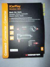 Monster iCarPlay Wireless 800 Music-Car-FM Radio for Ipod and Apple