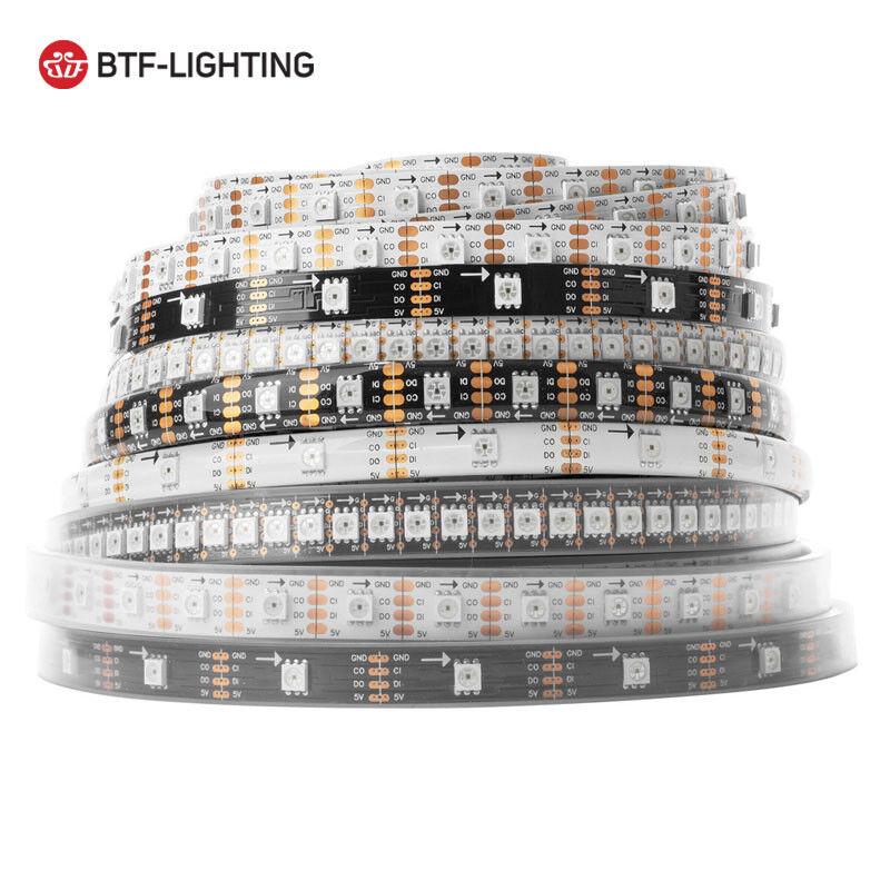 SK9822LED Stripe Streifen 144 150 300LED Pixel Adressierbar 5V    Gewinnen Sie hoch geschätzt