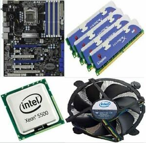 kit-scheda-madre-mainboard-asrock-x58-extreme-3-cpu-intel-xeon-6gb-ram-kings