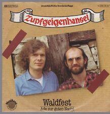 """7"""" Zupfgeigenhansel Waldfest / Ade zur guten Nacht 80`s EMI Musikant"""