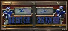 ODELL BECKHAM JR / ANDRE WILLIAMS DUAL RC AUTO /18 AMAZING GIANTS DUAL RC AUTO