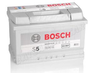 BOSCH S5 007 74Ah PREMIUM Autobatterie Starterbatterie Silver PLUS *NEU*