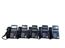 Lot Of 5 Nec Dt300 Series Dlvxdz Ybk Dtl 12d 1bktel Display Business Phone