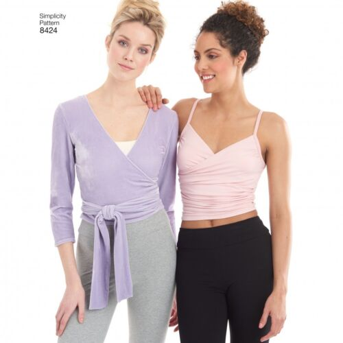 Simplicity Ladies Sewing Pattern 8424 Knit Leggings /& Tops Simplicity-84...
