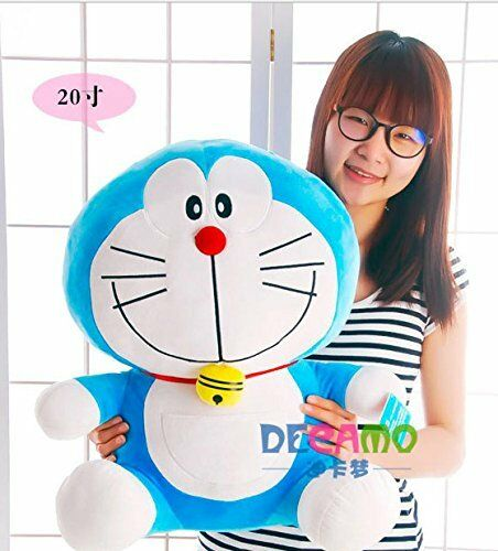 50cm Doraemon Giant Large Stuffed Cartoon Soft Plush Toy Doll Kids Birthday Gift
