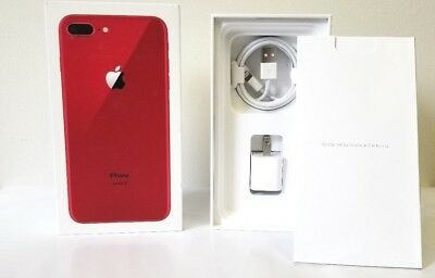 best website f159e 53794 iPhone 8 Red Box Original Apple Retail Box with Accessories Option 8 ...