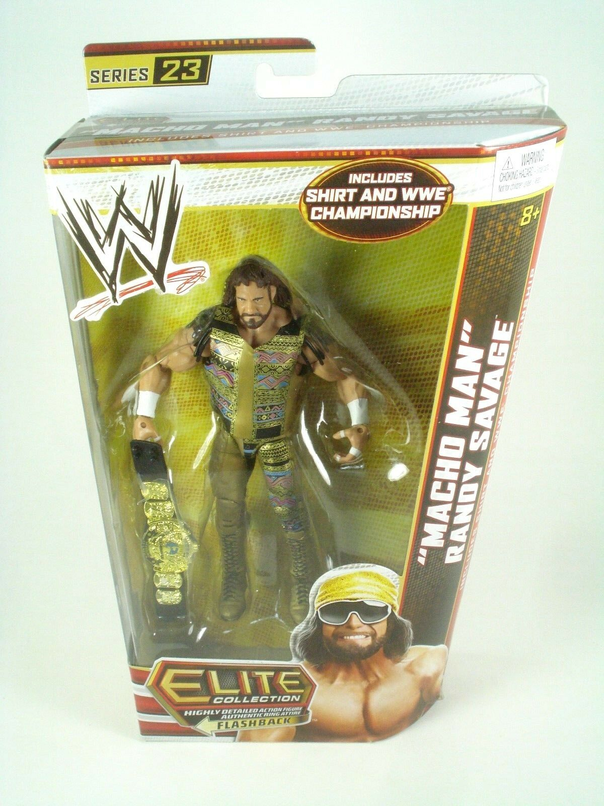 WWE Elite Collection - Series Macho Man Randy Savage Belt - Brand New Sealed