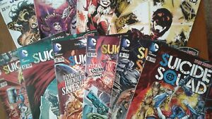 DC-COMICS-THE-NEW-52-SUICIDE-SQUAD-VARIOUS-ISSUES