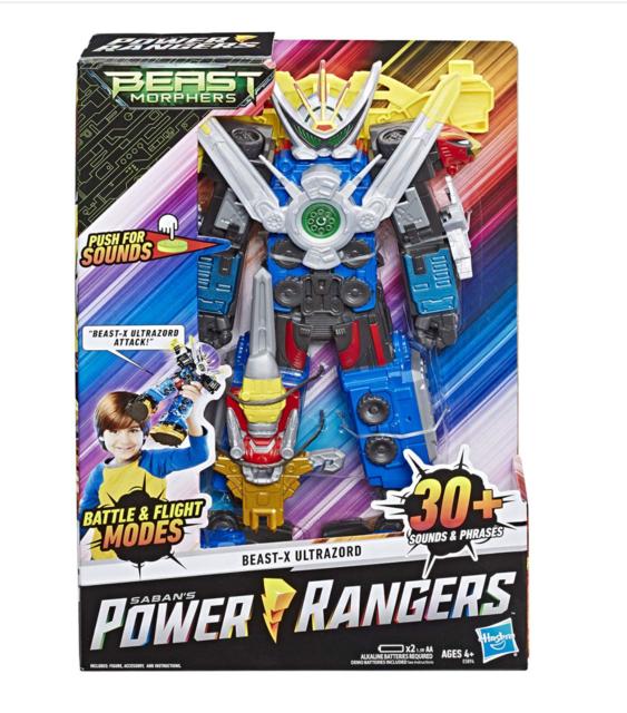 New Power Rangers Beast Morphers Beast-X Ultrazord Power Rangers Action Figure