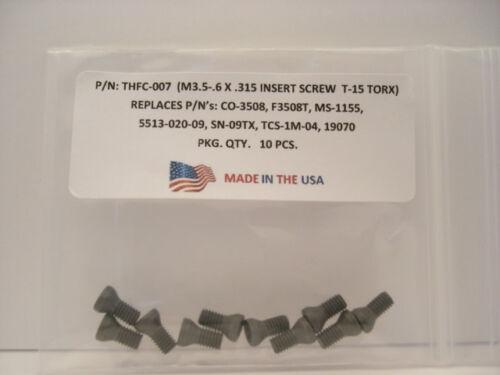 10 Pieces THFC-007-MS-1155 Insert Screw