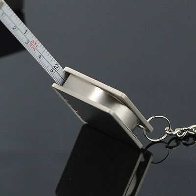 Creative Practical Tape Measure Keychain Key Chain Ring Keyring Key Fob Holder