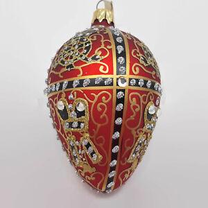 Alan-B-Silvertone-Russian-Imperial-Glass-Egg-Ornament