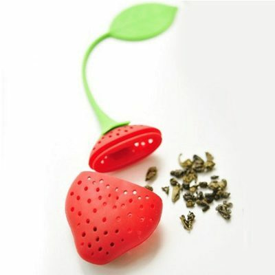 New Strawberry Tea Strainer Infuser - BPA FREE - Australian  - Fast Shipping