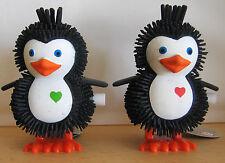 2x Hüpf Pinguin Aufziehtier / Wind up Toy (Spiegelburg)