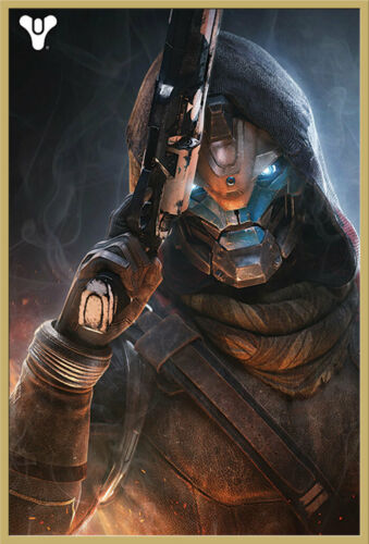 6 Video Game Game Poster Poster PRINT Size 61x91,5 cm Destiny-cayde