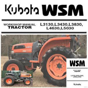 Amazing Kubota L3130 L3430 L3830 L4630 L5030 Service Manual Repair Pdf Wiring Digital Resources Operbouhousnl