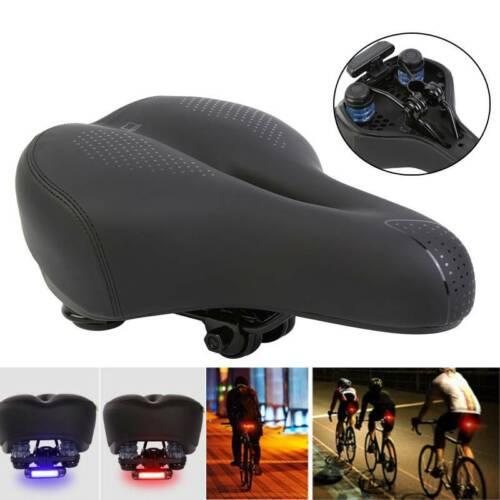 MTB sattel Mountainbikesattel mit Rücklicht Sattel Fahrradsattel Fahrradsitz