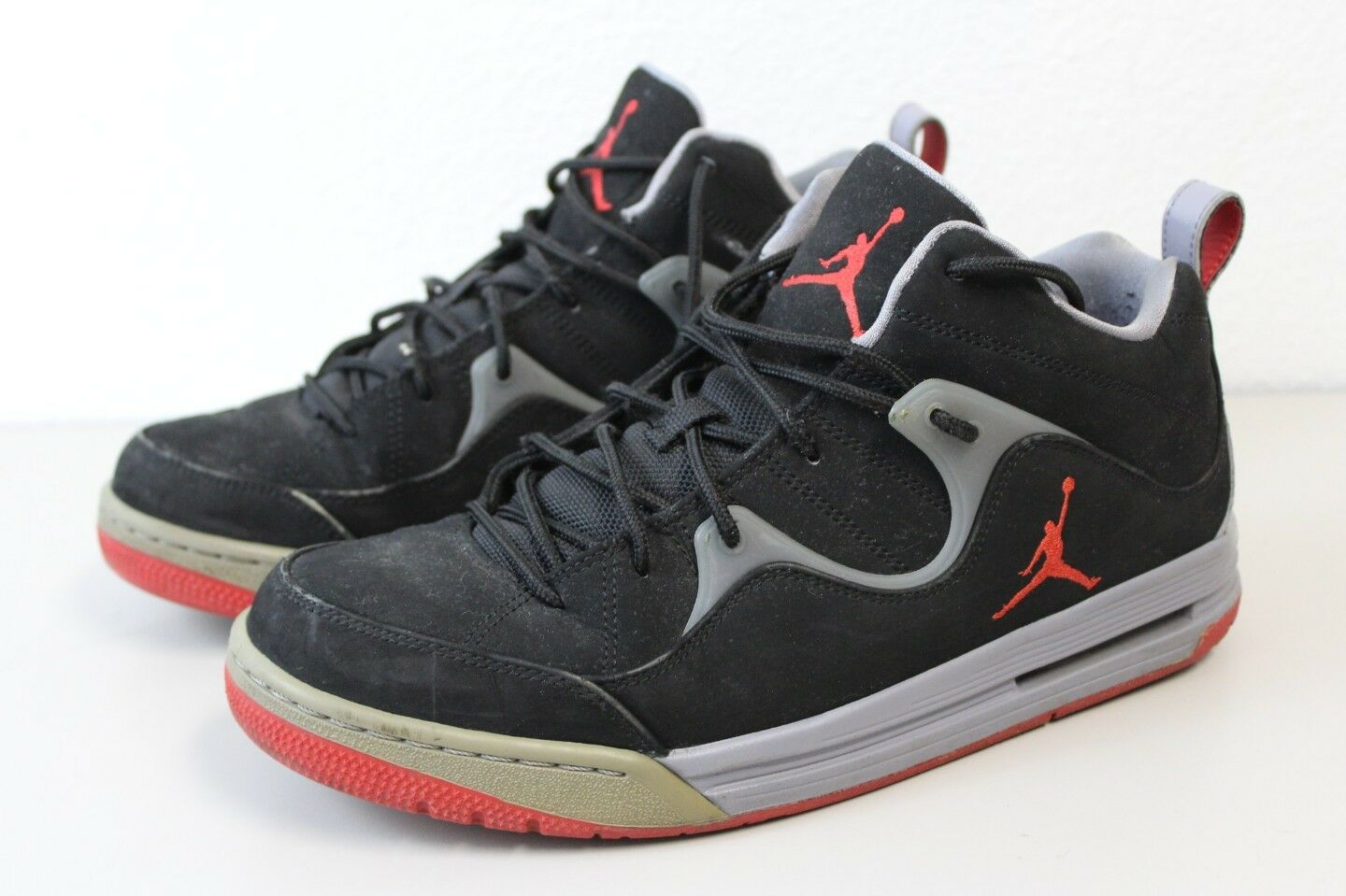 Nike Air Jordan Flight TR '97 Black Fire Red Cement Gray Comfortable New shoes for men and women, limited time discount
