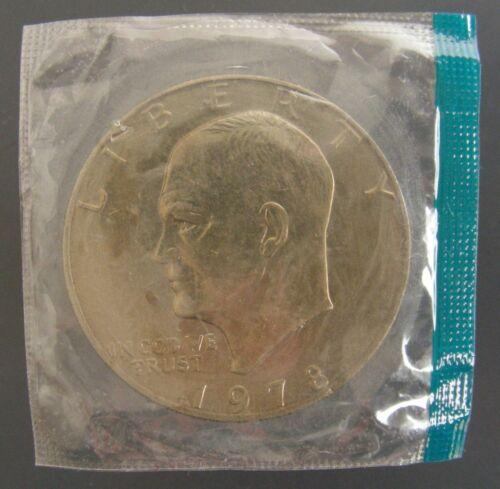 In Mint Cello BU 1978 P Eisenhower Dollar Ike