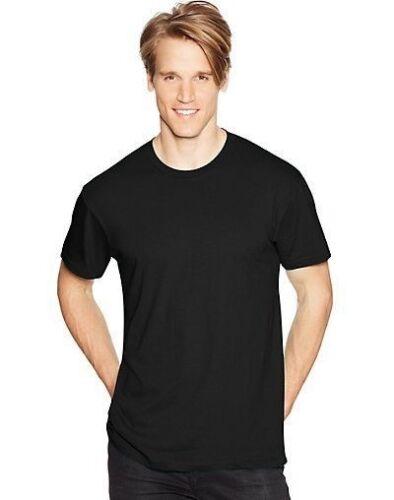 SS Hanes Mens Nano-T T Shirt 100/% Coton Léger Tee S-3xl 4980