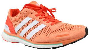 Details zu Adidas Adizero Adios Boost W Damen Laufschuhe Sneaker orange  BA7948 Gr. 36 NEU