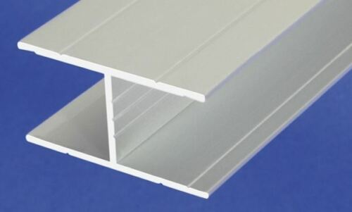 1 m H-profile Aluminum Anodised Channel H Shape Section Grooved Bar