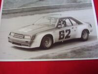 1981 Ford Mustang Miller Daytona Race Car 11 X 17 Photo / Picture