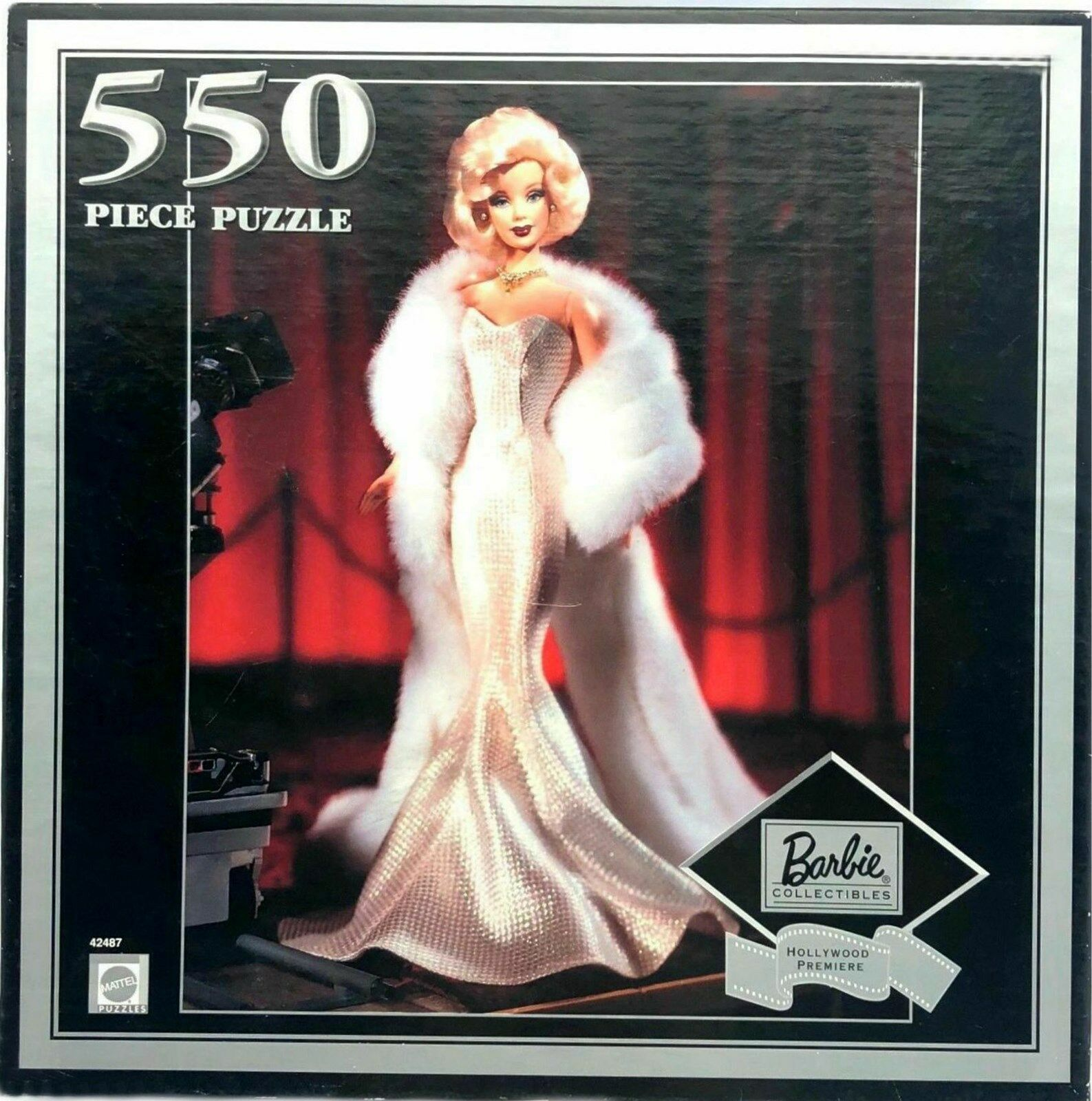 Barbie Puzzle Hollywood Premiere Blondhead 550 Piece Factory Sealed NEW 2000