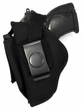 USA MADE OWB Belt Slide/Clip-On Thumb Break Holster FOR BERETTA NANO 9MM
