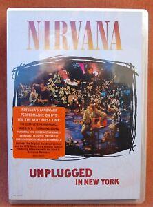 NIRVANA - UNPLUGGED IN NEW YORK  -  !!! DVD   !!!