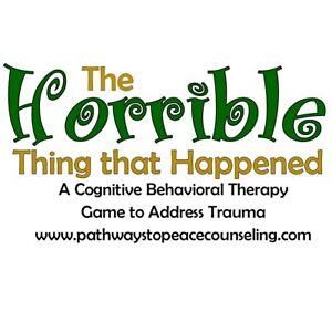 L'ORRIBILE cosa che è successo, CBT assistenza psicologica gioco, Trauma, dolore