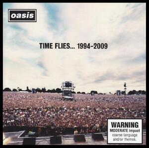 OASIS-2-CD-TIME-FLIES-1994-2009-BEST-OF-GREATEST-HITS-90-039-s-POP-NEW